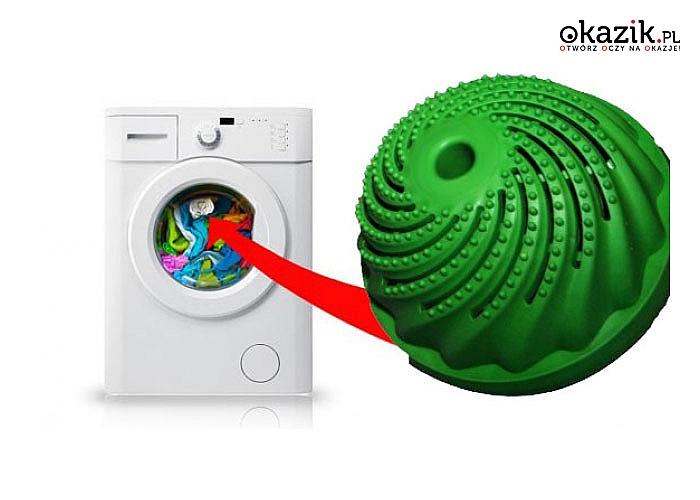 Rewolucyjna kula do prania! Pierze równie dobrze jak proszek!