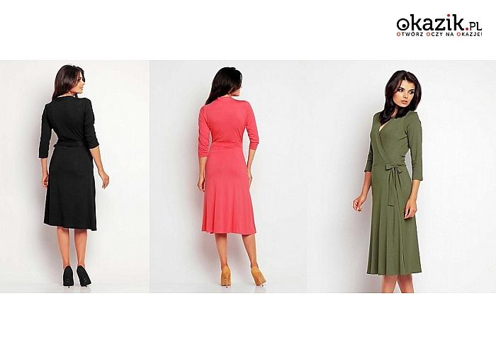 Suknia idealnie modelująca sylwetkę