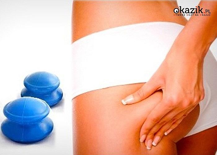 Bańki chińskie gumowe do masażu antycellulitowego i terapeutycznego