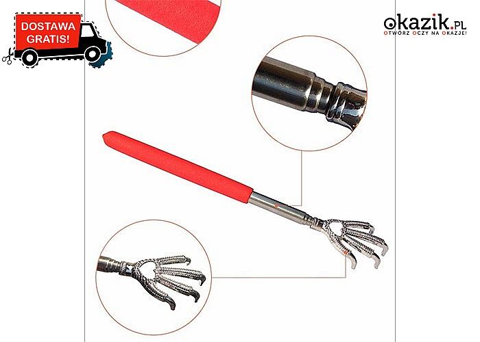 Teleskopowa drapaczka, dzięki której podrapiesz się w miejscach niedostępnych dla Twojej ręki!