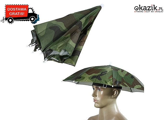 Parasol na głowę idealny na jesienno-zimowe spacery