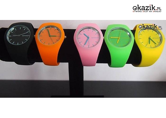 Zegarek! Hipoalergiczny silikon! Najwyższa jakość wykonania!