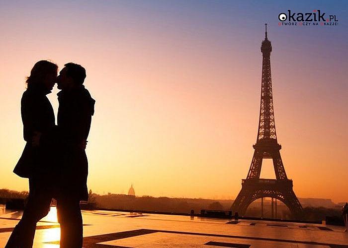 Walentynki w Paryżu! 1 nocleg w hotelu! Autokar klasy LUX! Śniadanie! Opieka pilota!