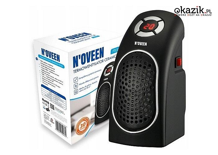 Termowentylatory ceramiczne marki N'oveen! 2 modele do wyboru! Wysoka efektywność grzania!
