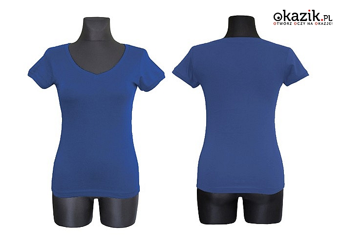 Bawełniana bluzka/tunika z krótkim rękawem różne kolory, różne rozmiary.