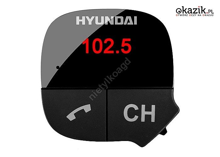 Transmiter nadajnik FMT419BT HYUNDAI z Bluetooth
