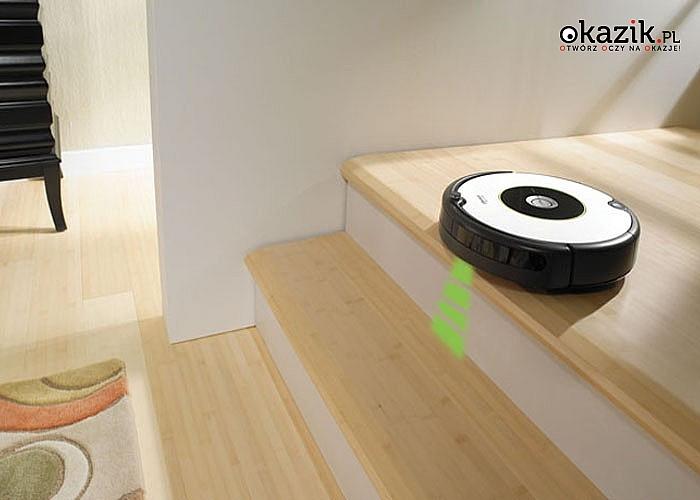 HIT! Robot odkurzający irobot roomba 605! Inteligentnie, łatwo i czysto! Czujniki wysokości! Automatyczne ładowanie!