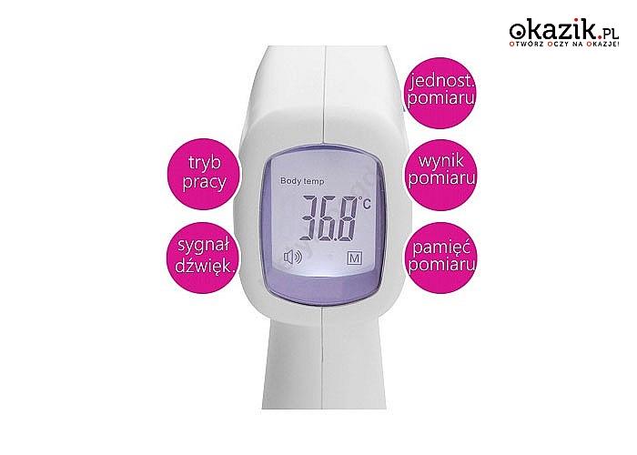 Wysokiej jakości termometr bezdotykowy Cormed HW3! Bezdotykowy! Prosty w użyciu! Wszechstronne zastosowanie!