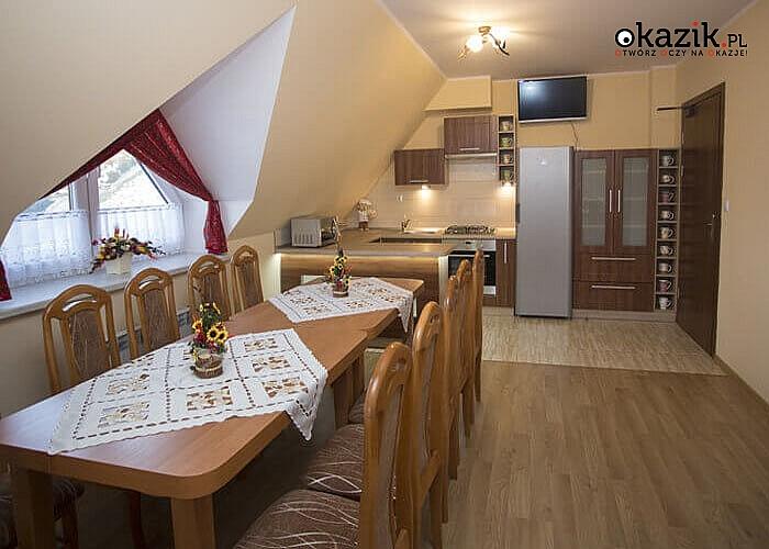 """Dom Wypoczynkowy """"Sykowny"""" w Białym Dunajcu! U stóp dostojnych i wyniosłych Tatr! Eleganckie pokoje! Śniadanie!"""