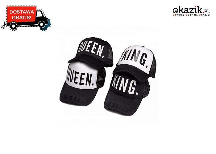 Król czy Królowa? Powiedz wszystkim kim jesteś! Efektowna czapka z daszkiem w dwóch kolorach do wyboru! (39,90 zł)