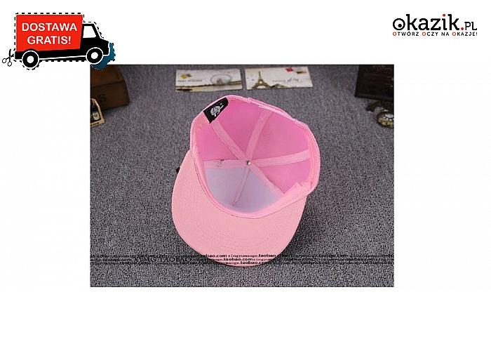 Oryginalna czapka-myszka dla kobiet, a także dla mężczyzn. (29 zł)