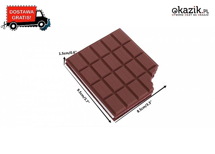 To nie czekolada! Tylko smacznie wyglądający mały notes (19.90zł)