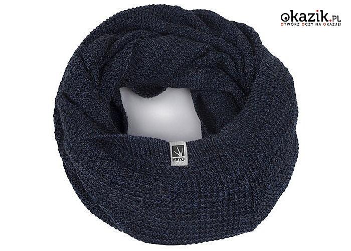 Komin męski Heyo! Najlepsza alternatywa dla szalika dla mężczyzn! Najwyższa jakość wykonania! 4 kolory do wyboru!