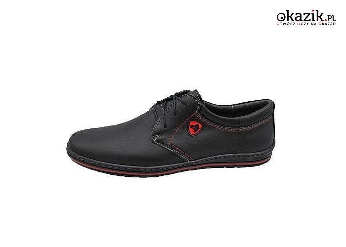 Buty męskie wykonane z wysokiej jakości włoskiej skóry naturalnej! Idealne na codzienne! Polska marka Dorian!
