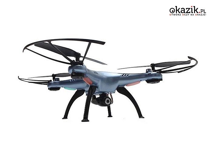 Absolutna nowość od znanego na całym świecie producenta dronów - Syma Blue Eye! Kamera 2MP! Tryb zawisu!