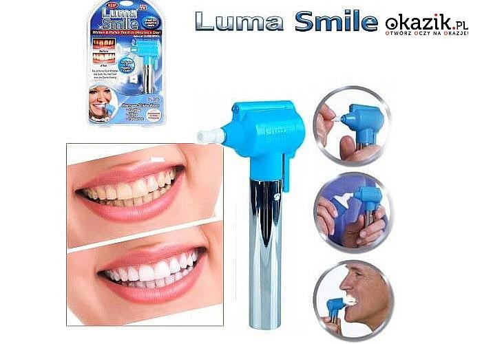 Maszynka do czyszczenia/polerowania zębów! 5 polerujących nakładek! 100% skuteczność!