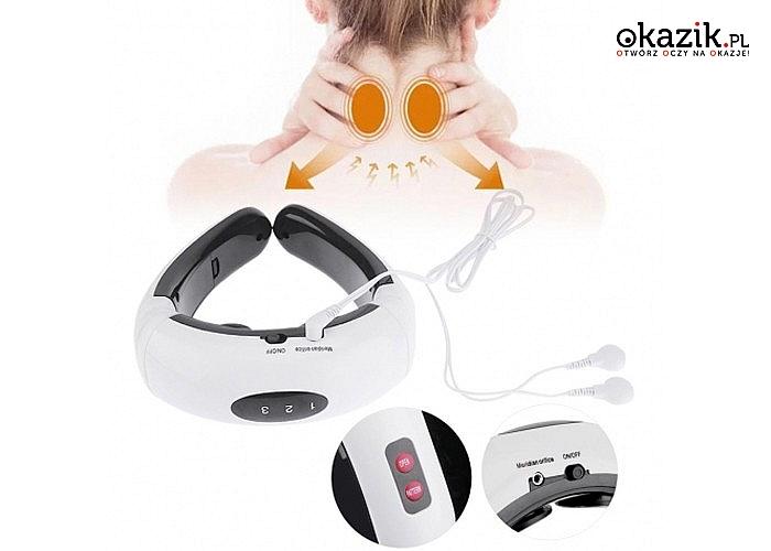 Masażer karku alternatywa dla drogich wizyt w salonach masażu