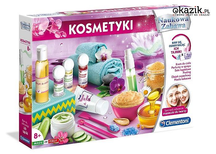 Nowość! Prawdziwe laboratorium kosmetyczne w Twoim domu!