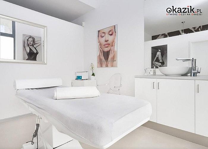 Mikrodermabrazja lub peeling kawitacyjny na twarz, szyję i dekolt w salonie Skin Like Silk w Warszawie! 1 lub 3 zabiegi!