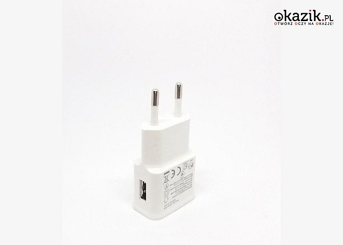 Ładowarka sieciowa USB 2.0! Najwyższa jakość wykonania!