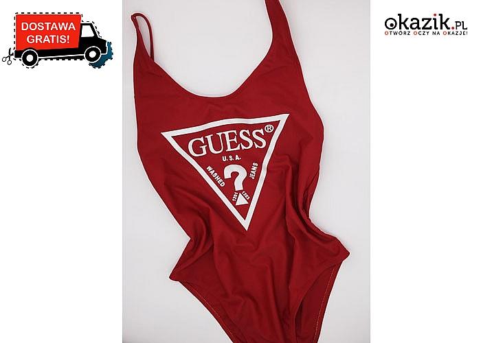 Jednoczęściowy strój kąpielowy Guess! Najwyższej jakości materiał! 3 kolory do wyboru!