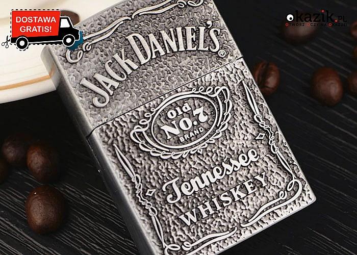 Modny gadżet zapalniczka Jack Daniels