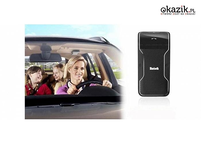 Rozmawiaj przez telefon prowadząc samochód!