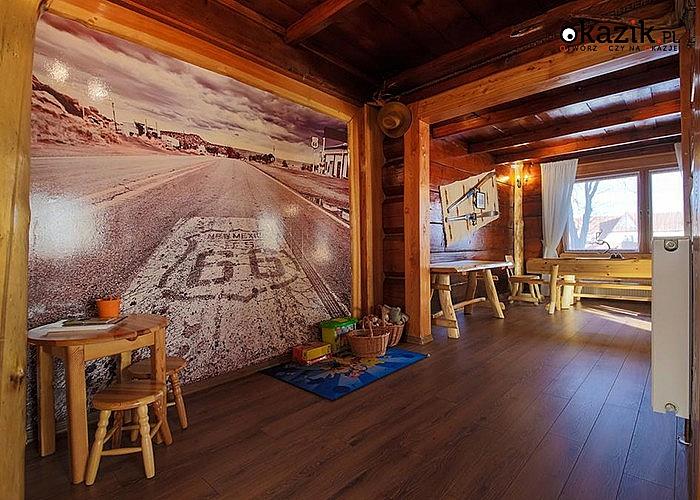 """Ośrodek  """"Rancho""""na Podhalu. Wyciągi narciarskie 150 m od obiektu."""