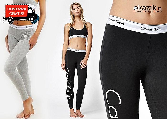 Legginsy damskie Calvin Klein dla wygodnego i modnego wyglądu