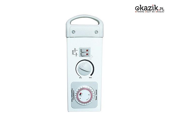 urządzenie wyposażone w możliwość ustawienia czasu włączania i wyłączania