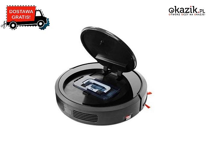 Vileda Cleaning Robot VR 302 cichy i skuteczny - będzie idealnym pomocnikiem w codziennym sprzątaniu