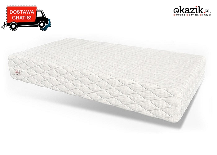 Komfortowy materac do spania z najwyższej jakości materiałów, idealny dla Twojego kręgosłupa.