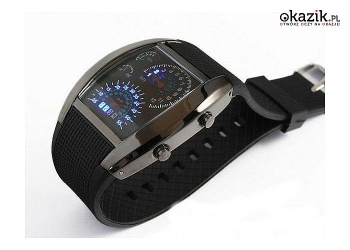 Zegarek Formuła! Bądź na czasie i jednocześnie zawsze na czas! Niezwykły design, szyk i styl!