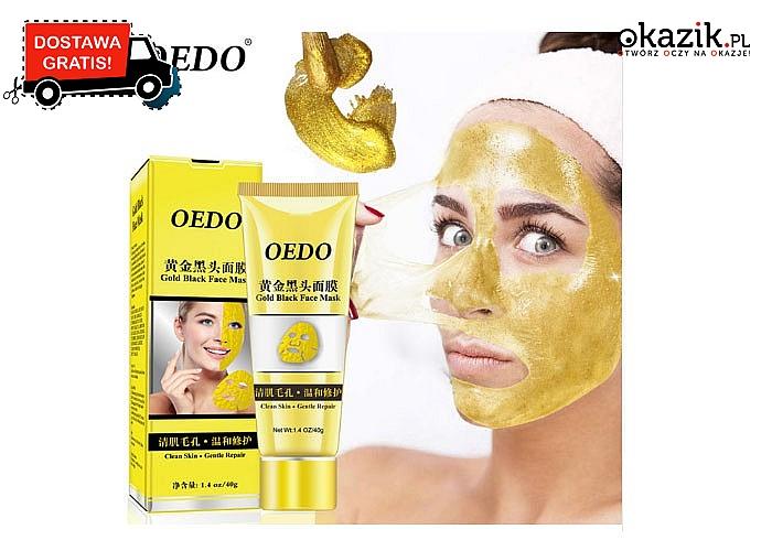 Złota maska usuwająca wszystkie niedoskonałości !