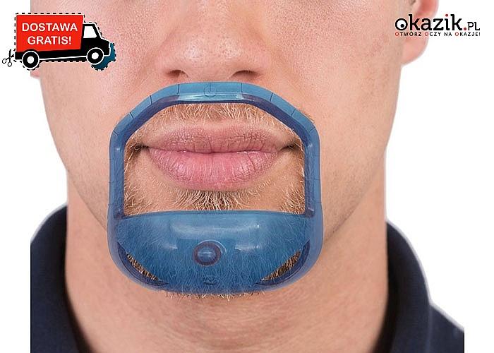 Szablon do golenia, stylizacji brody. Niezbędny dla każdego brodacza!