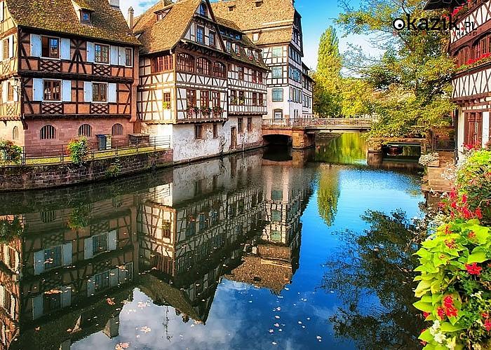 Wycieczka weekendowa do Alzacji : Strasburg, Colmar