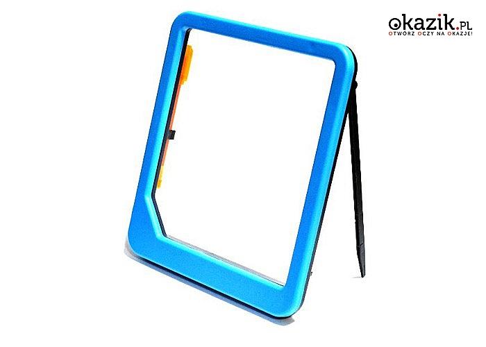 Tablico-ramka z podświetleniem LED + pisak! W zestawie dwustronny fluorescencyjny znikopis!