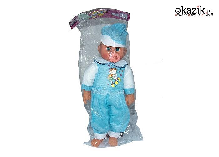Lalka Bobas ze smoczkiem. Wspaniała zabawa dla każdej dziewczynki gwarantowana