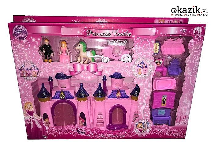 Czas na wspaniałą zabawę!!! Rozkładany Pałac Kiężniczki zachwyci każdą małą dziewczynkę