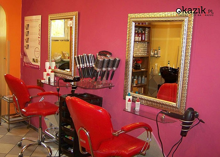 Salon fryzjersko - kosmetyczny JU-KA! 4 zabiegi! Wspaniała ekipa stylistek ze światowym i długoletnim doświadczeniem!