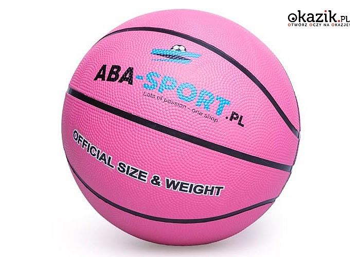 HIT! Piłka do koszyków ABA-SPORT! Atrakcyjny kolor! Najwyższa jakość! Dla dzieci i młodzieży!