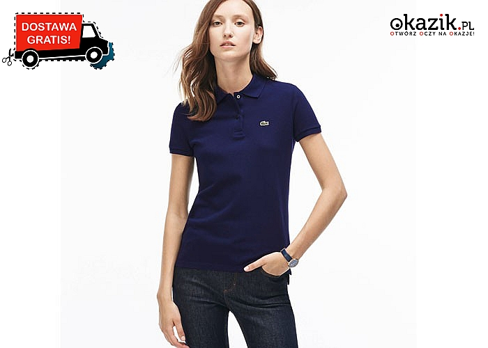 Bluzka damska Polo Lacoste! DARMOWA przesyłka! Najwyższa jakość wykonania! 4 kolory!