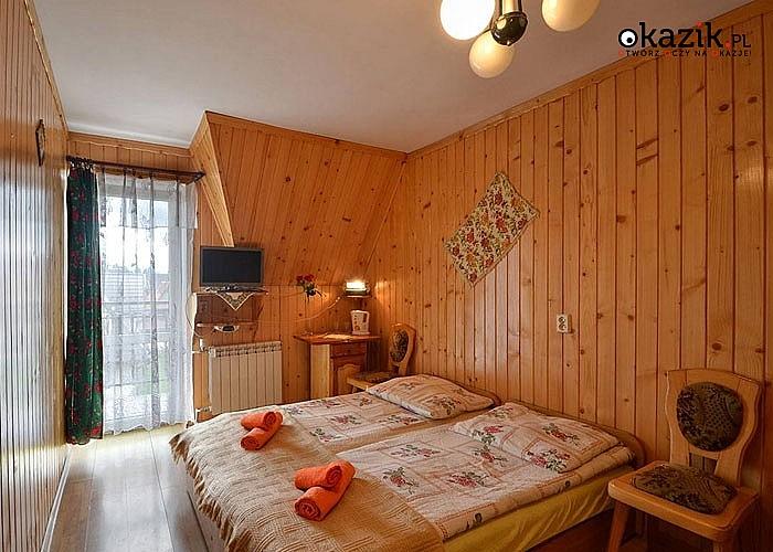 POBYT W BUSTRYKU w Domu Wczasowym Harnaś I! Komfortowe pokoje! Doskonała lokalizacja!