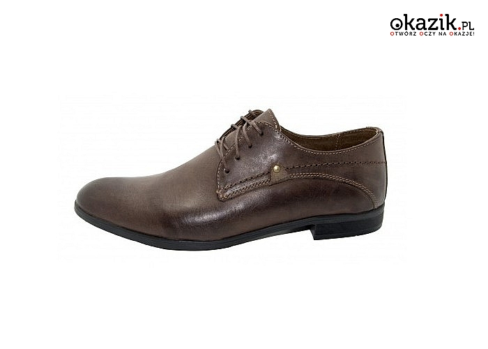Buty męskie skórzane! Najwyższa jakość wykonania! Polski producent! Dwa modele!
