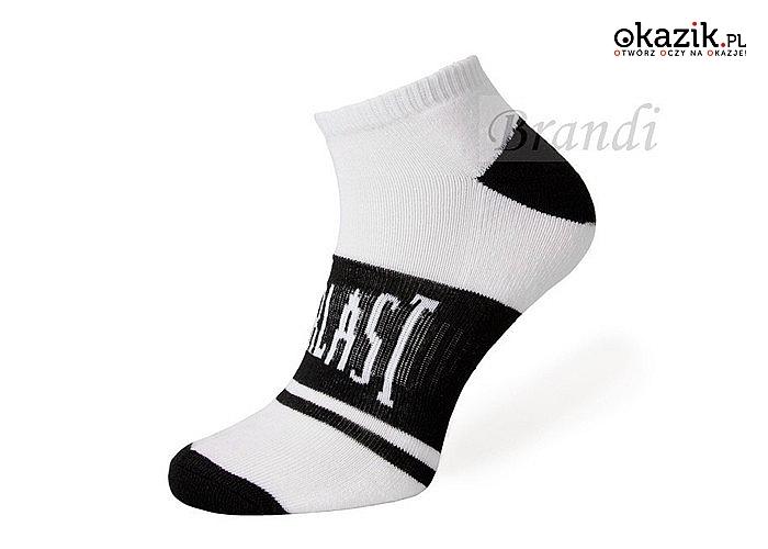 Skarpetki Everlast Trainer Socks! 6-pack! Na sezon wiosenno-letni lub na trening! Technologia Arch Support!