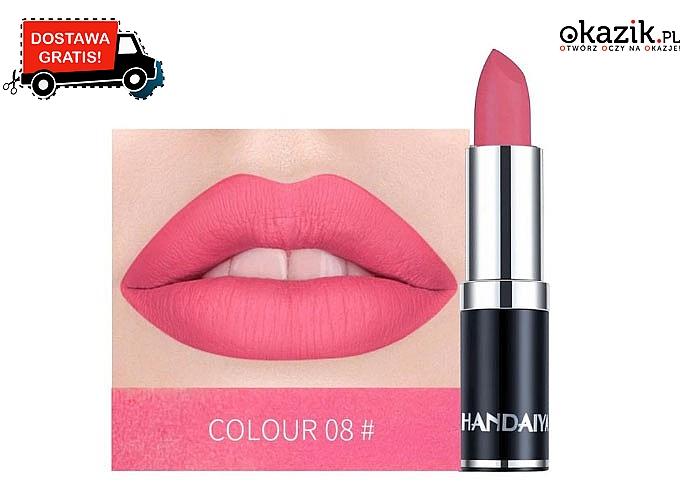 Piękne kolory na Twoich ustach! Pomadki o unikalnych barwach! Aż 12 odcieni do wyboru!