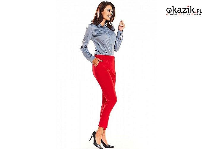 Prostota i klasyka w jednym, eleganckie spodnie na gumce