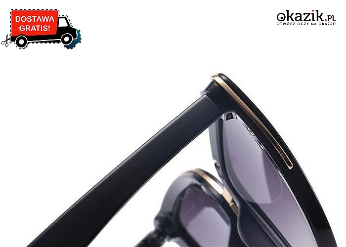 Przepiękne retro okulary w kształcie kociego oka! Jedne z najmodniejszych kształtów w świecie okularów.