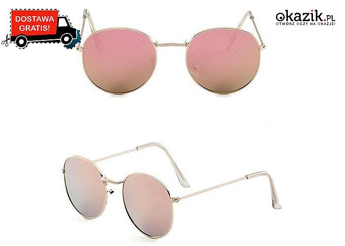 W sam raz na lato!! Wygoda i niezwykły szyk tych okularów sprawią satysfakcję każdej kobiecie