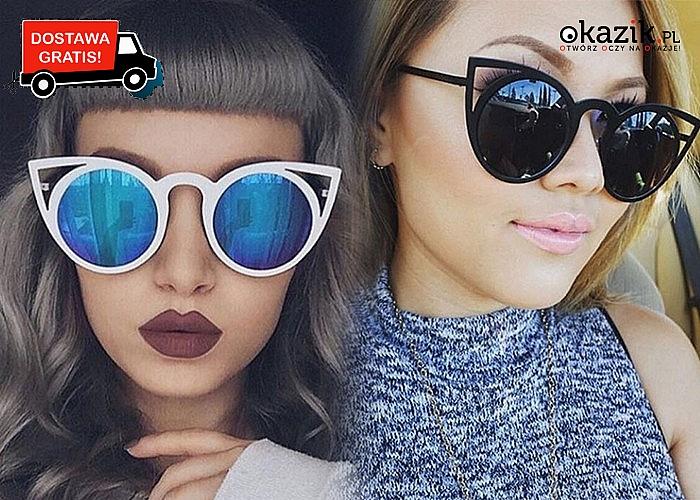 Kocie okulary! Postaw o oryginalny wygląd i ciesz się wyjątkową stylistyką!